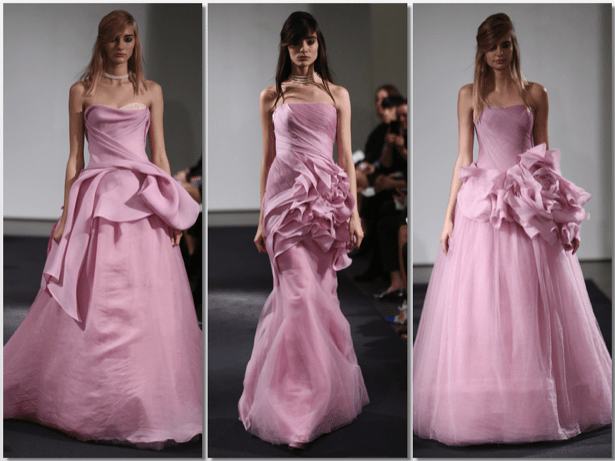 La vie en rose de Vera Wang - Weddings with Love · Weddings with ...