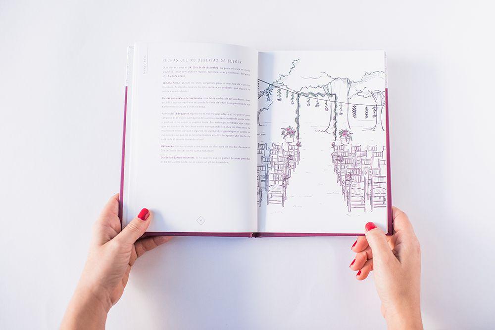 Ilustración del Planificador de Weddings With Love