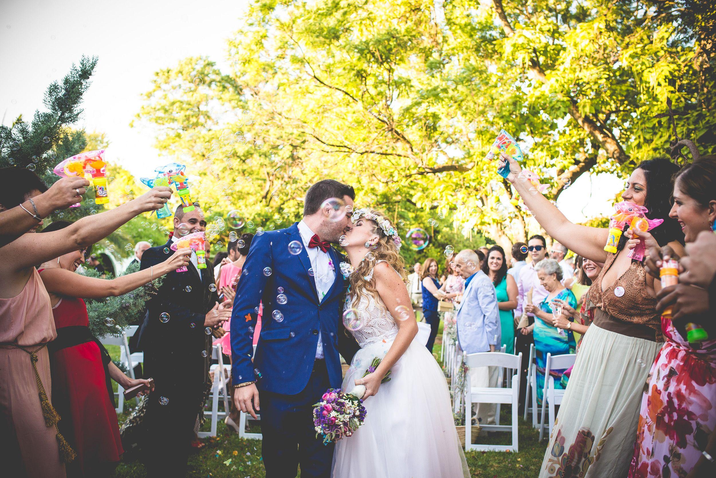 La boda divertida de Marian y Dani de Sweet Studio