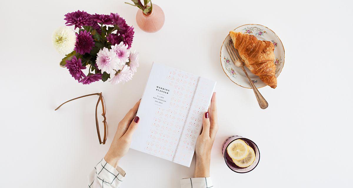 Libro y agenda para novia