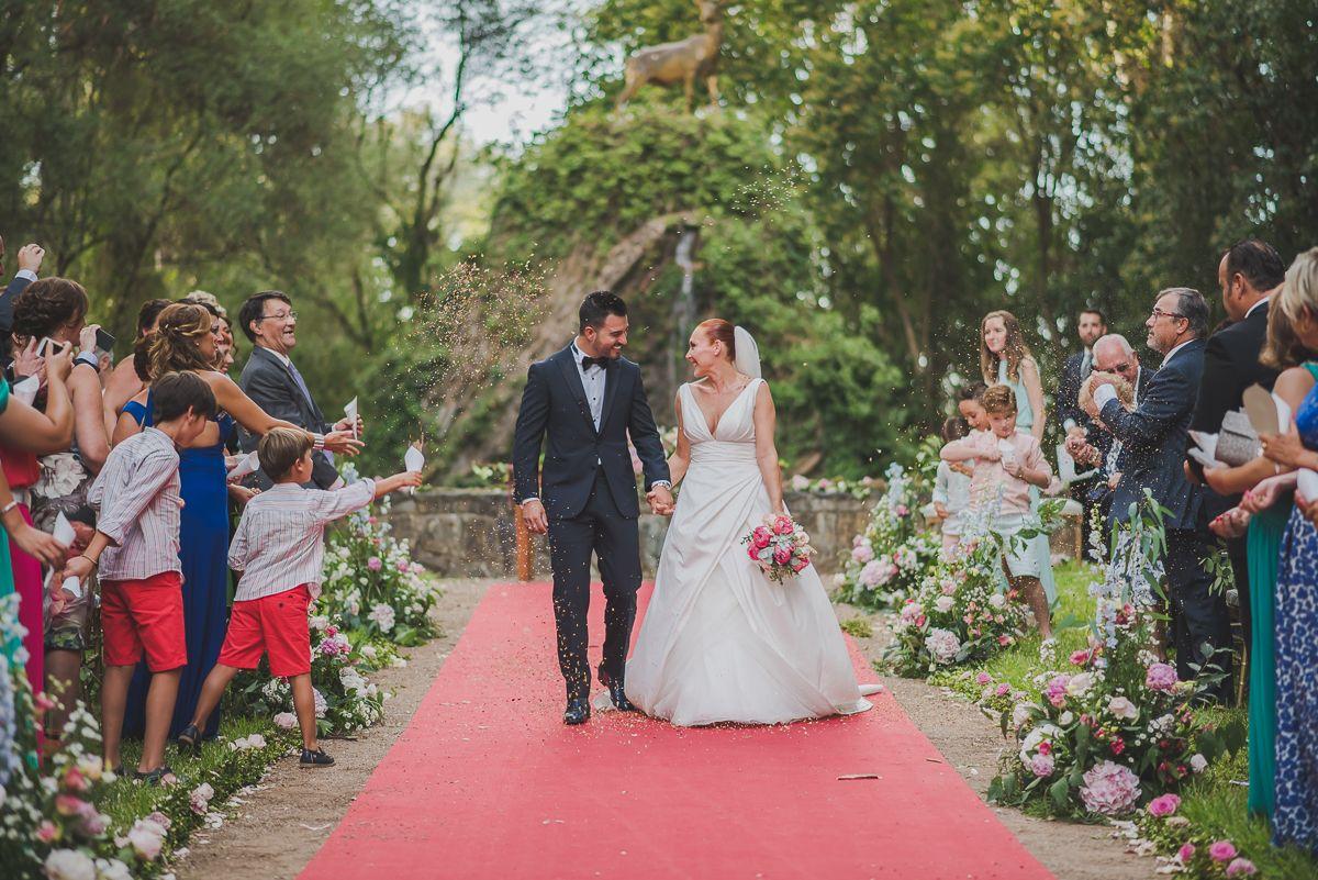 La boda palaciega de Gloria y Rafa en Palacio de Moratalla