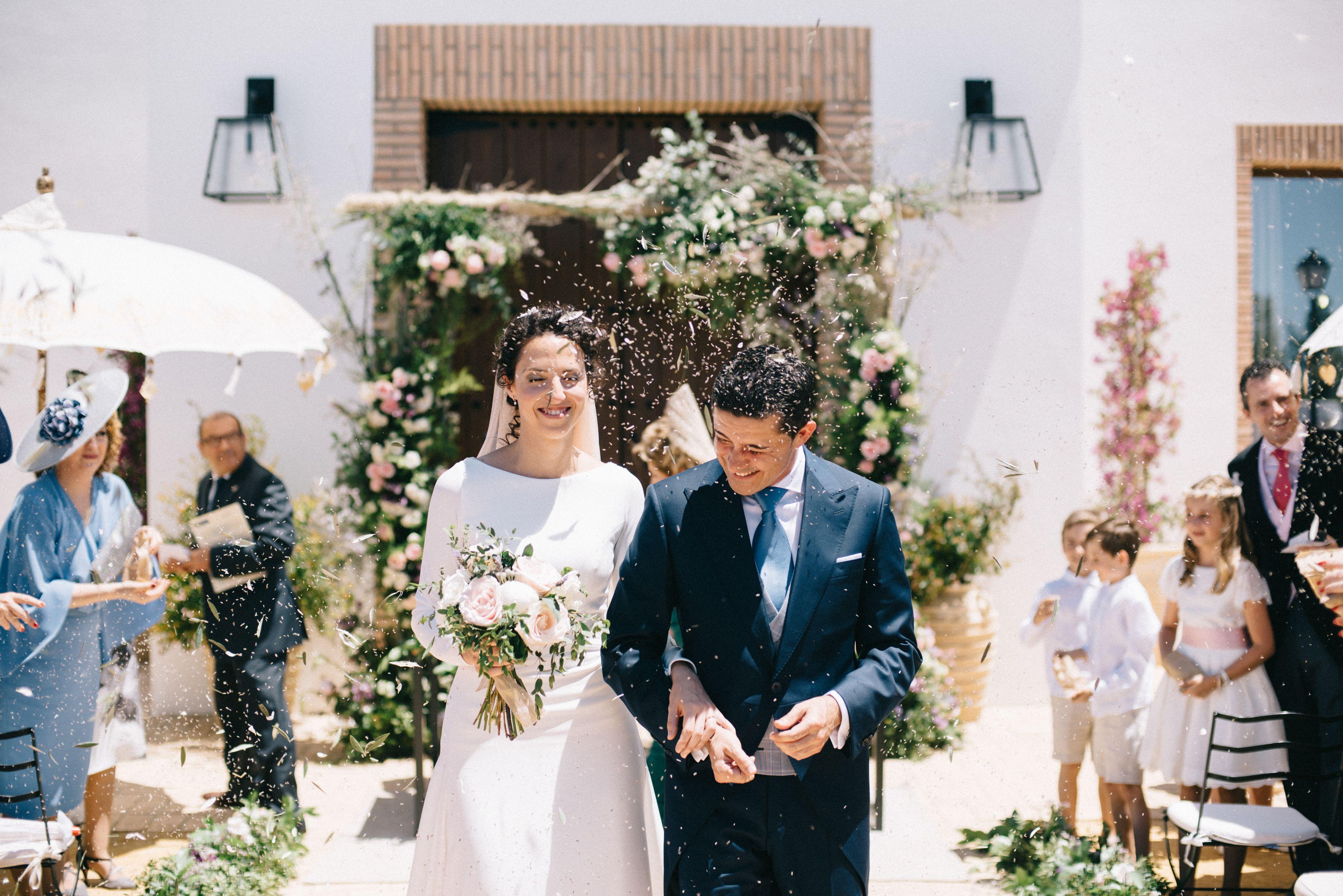 La boda de María y Guillermo en Cortijo Olivar de la Sargenta-100