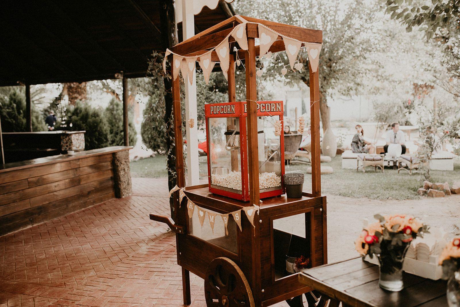 La boda en Andújar de Fede y Maite