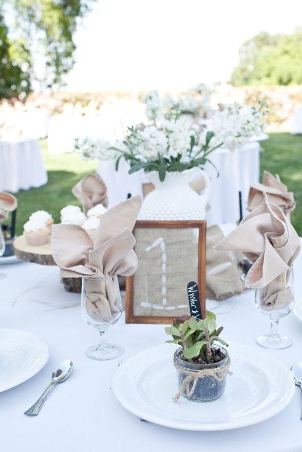 Mesas y meseros para vuestra boda