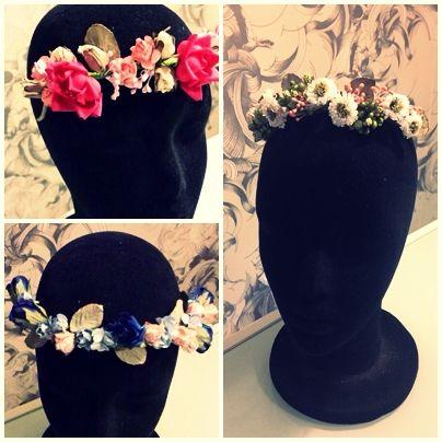 Los sombreros y coronas que se llevarán en el 2014