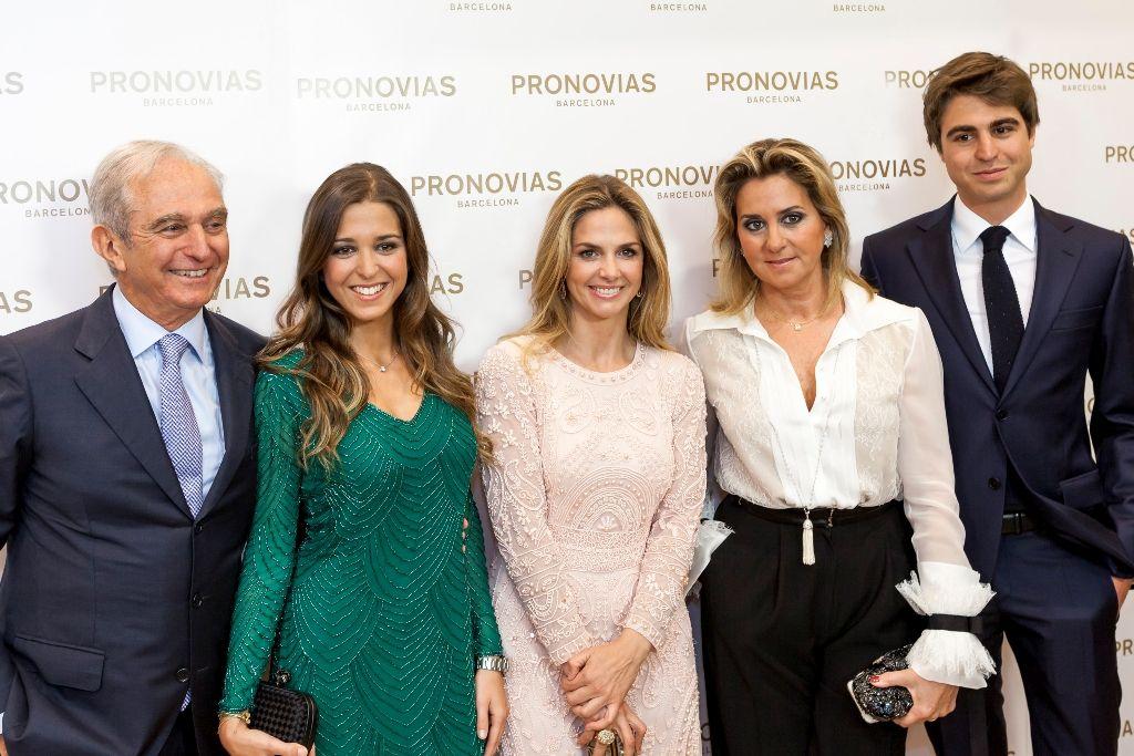Alberto Palatchi, Marta Palatchi, Genoveva, Susana Gallardo y Alberto Palatchi hijo