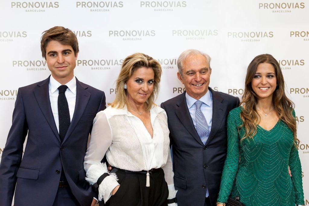 Alberto Palatchi hijo, Susana Gallardo, Alberto Palatchi y Marta Palatchi
