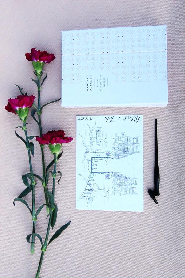 """Compra tu """"Wedding Planner"""" por San Valentín y llévate una ilustración personalizada"""