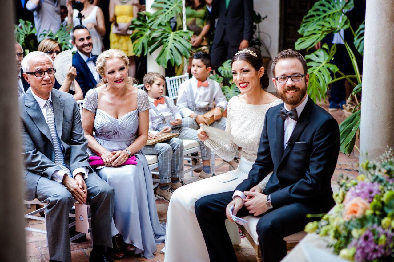 La boda de María y Carles en el Museo de Carmona