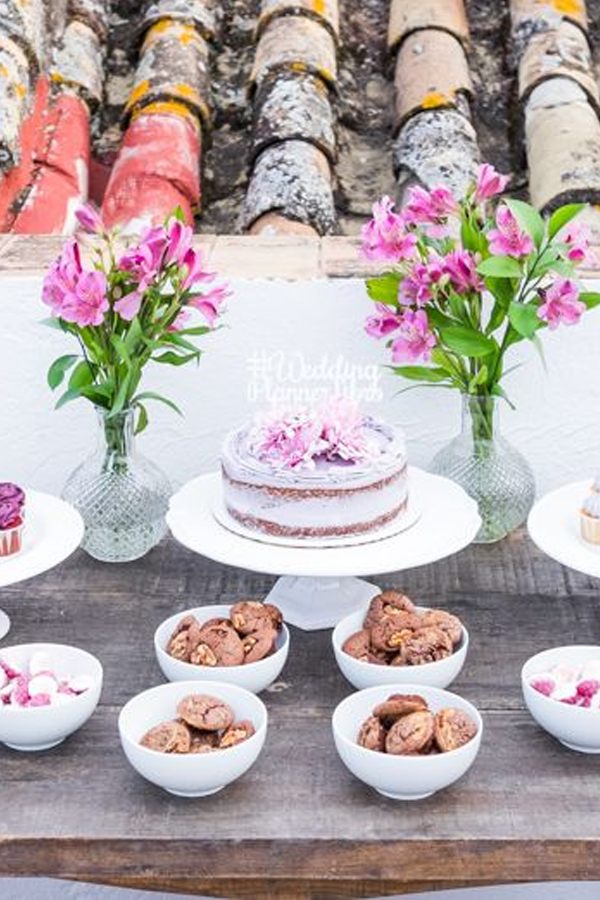 """Lo más dulce de la fiesta nuestro """"Wedding Planner, el libro para organizar una boda"""""""