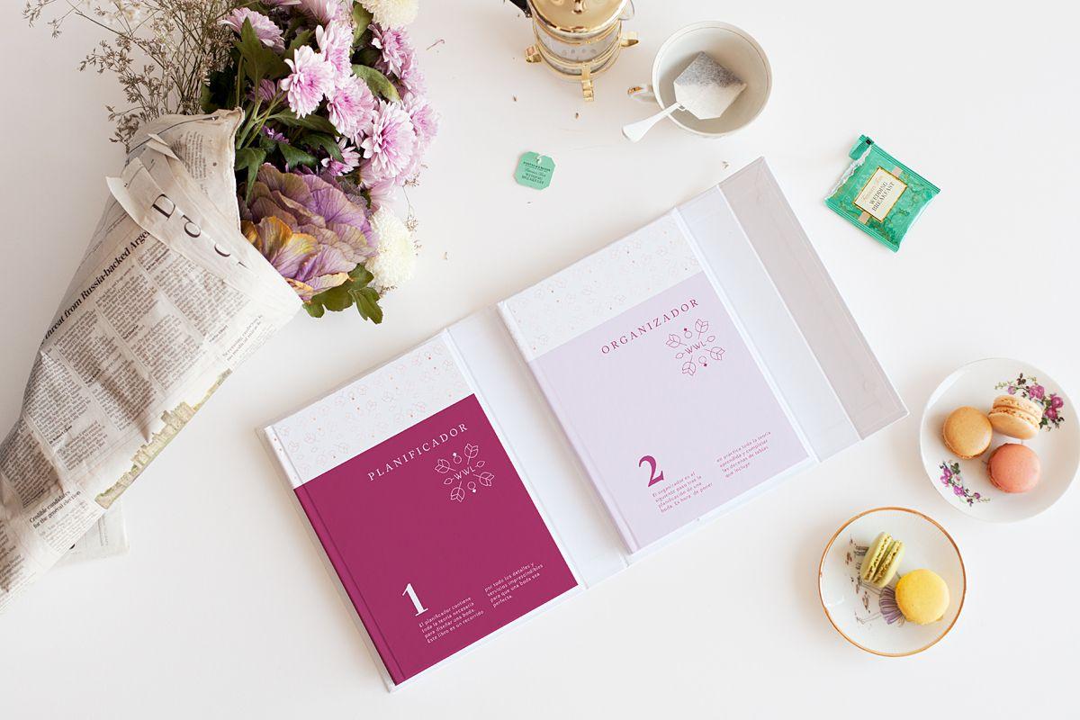 Libro y agenda para bodas