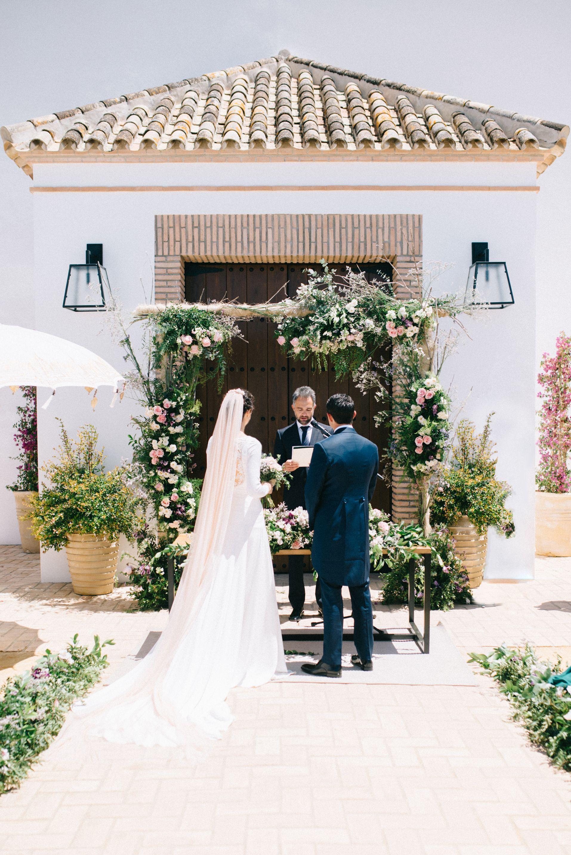 La boda de María y Guillermo en Cortijo Olivar de la Sargenta-98