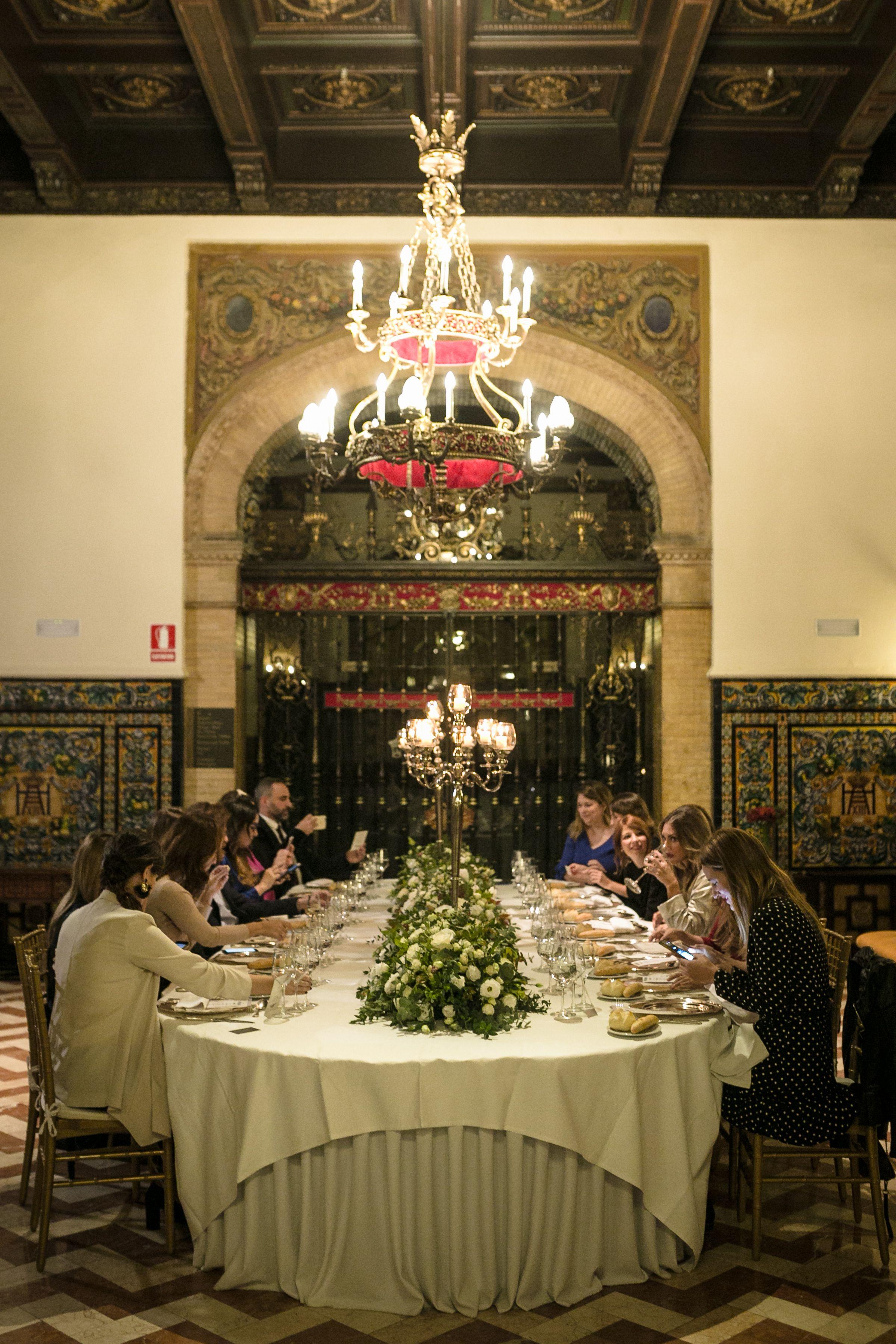 """El evento Wedding Club """"Aires de Sevilla"""" en el Hotel Alfonso XIII"""