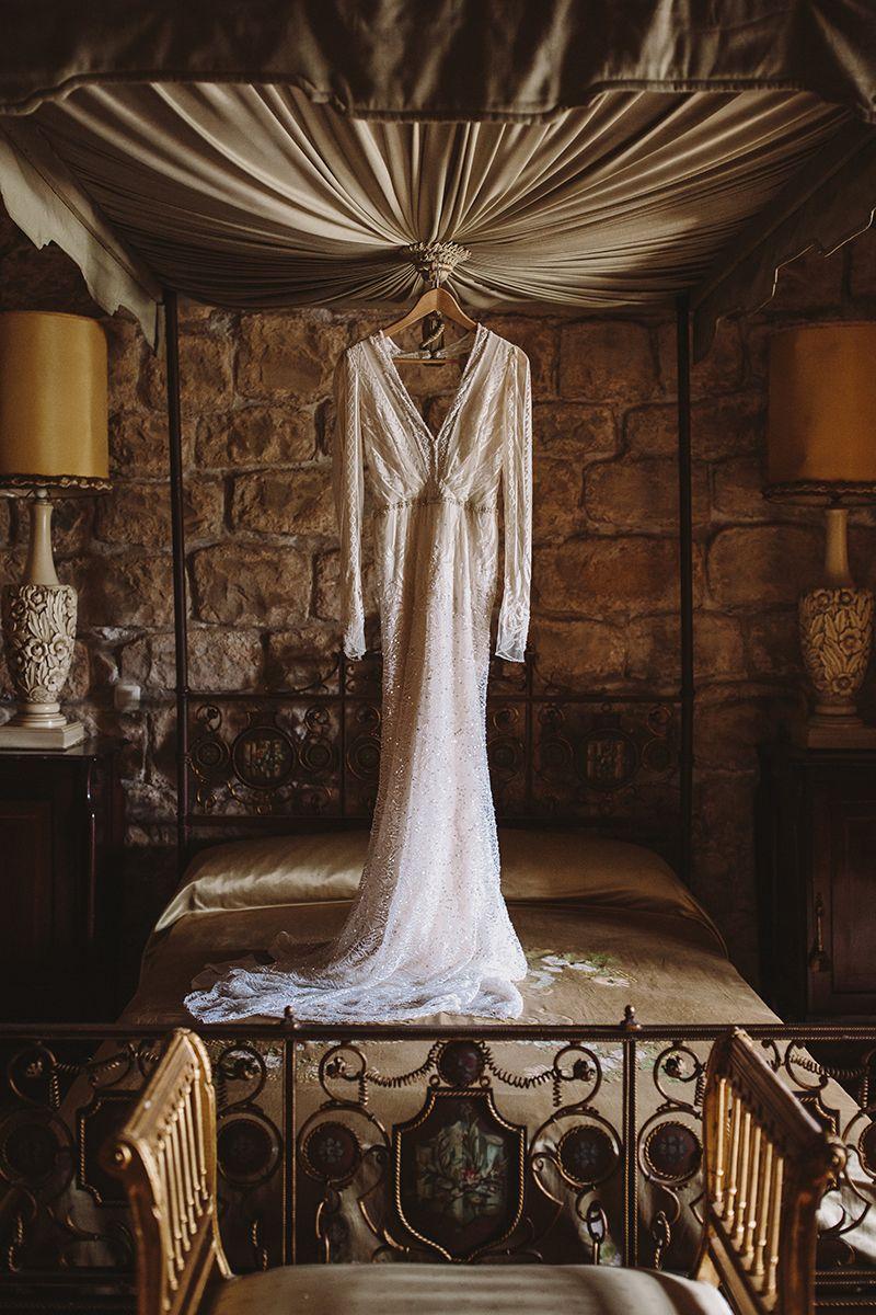 la boda de sara y dave en el castillo de canena 13
