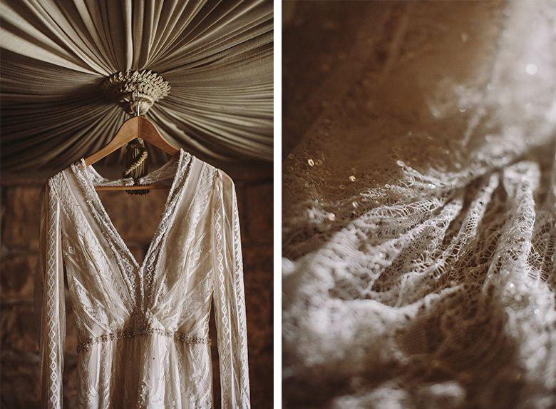 la boda de sara y dave en el castillo de canena - composición 2