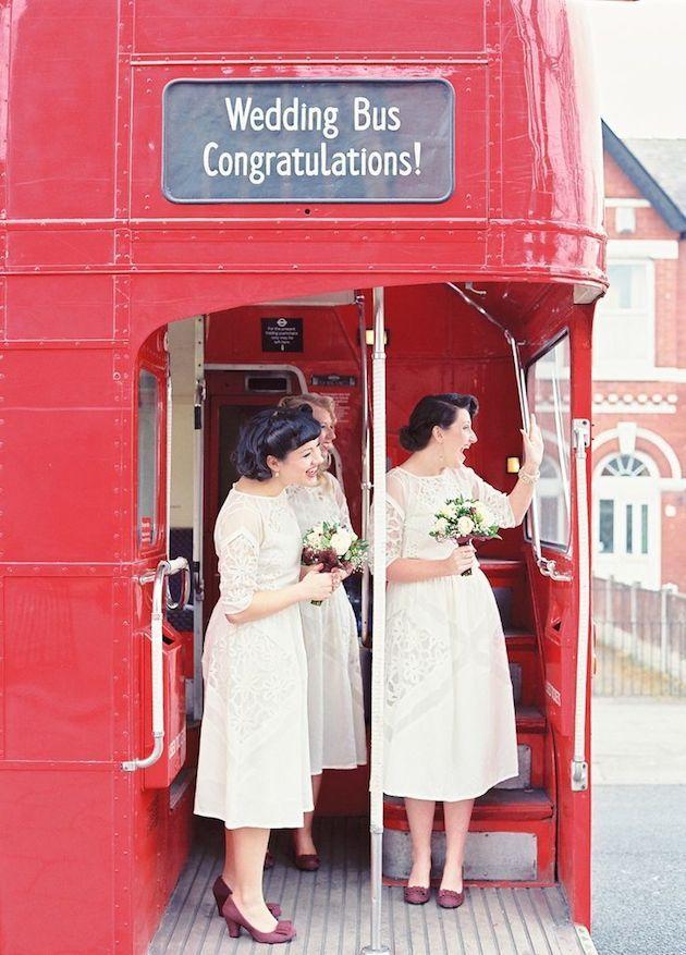 Alquiler de autobuses para el día de la boda