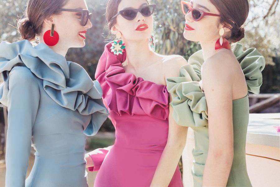 Vestidos de invitada de boda por Cherubina para primavera:verano 2018-1