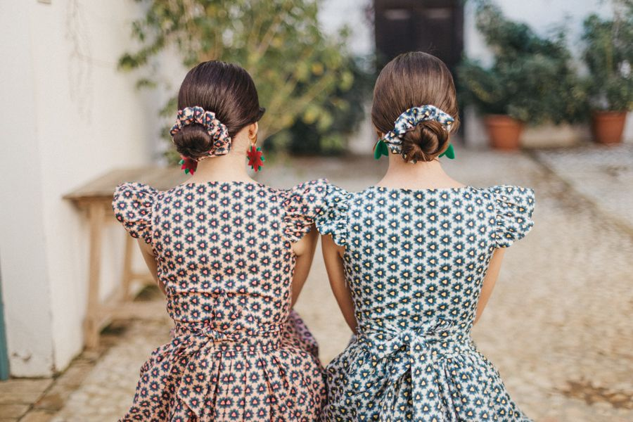 Vestidos de invitada de boda por Cherubina para primavera:verano 2018-19