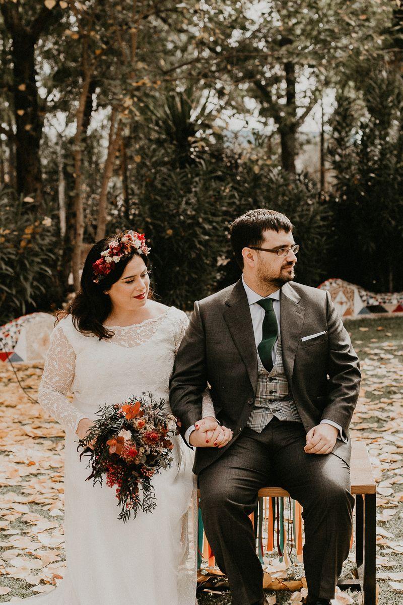 La boda en Andújar de Fede y Maite. Una boda a todo color.