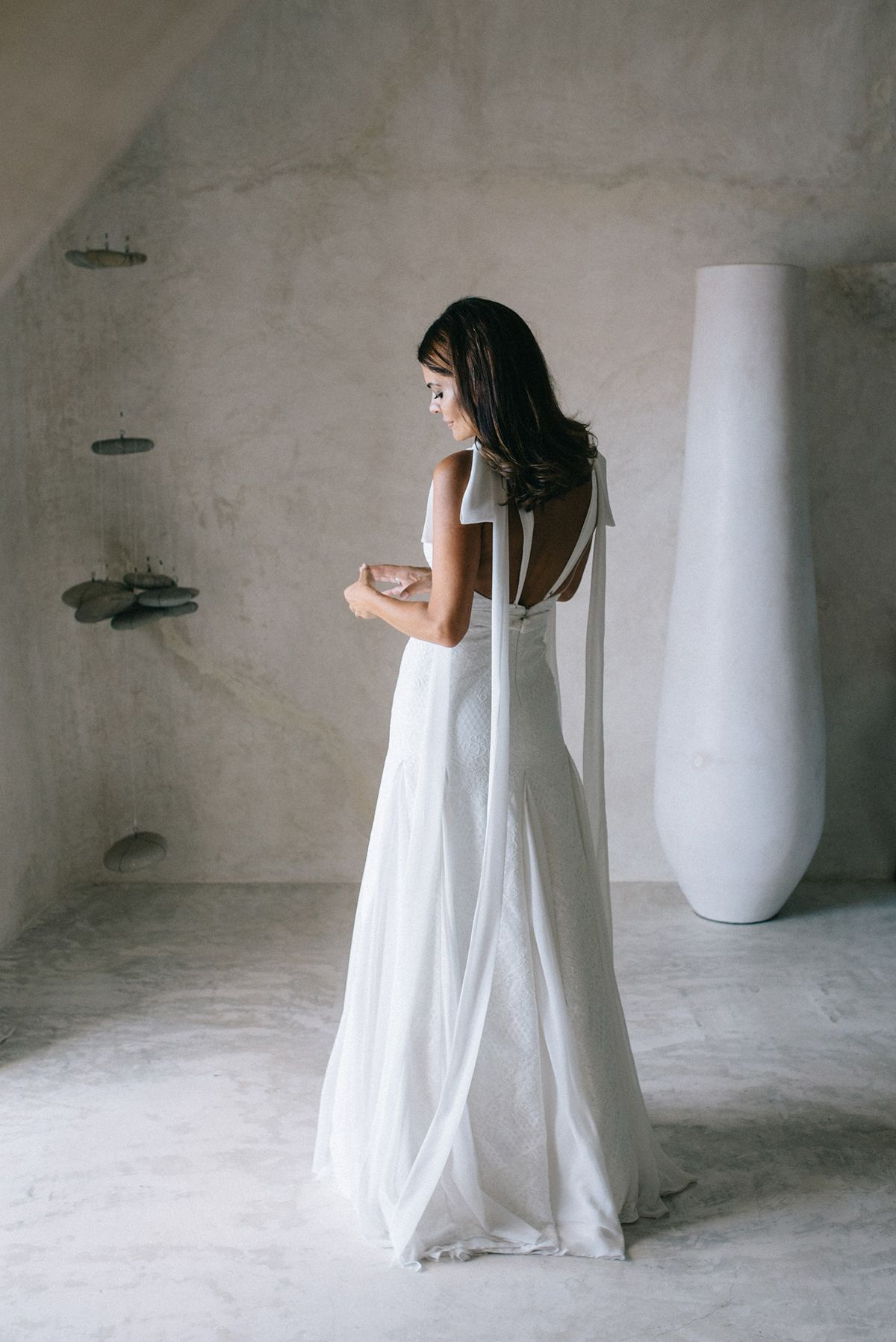 La boda de María José Suárez y Jordi Nieto en Santorini