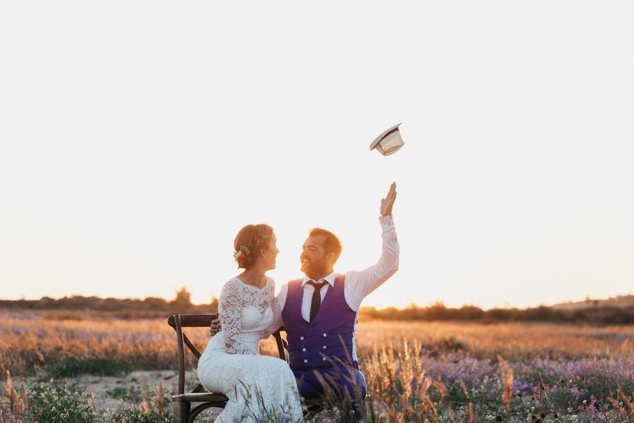 Celebrar una boda en la playa de Mazagón
