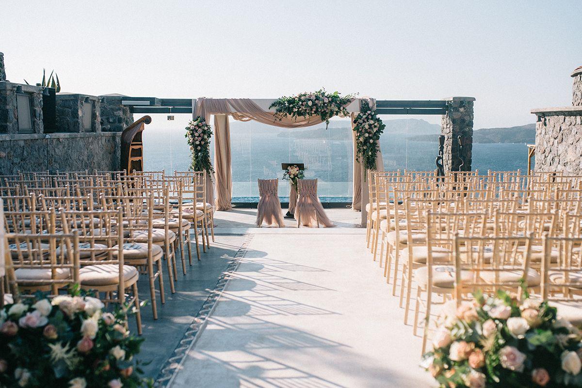 boda en santorini