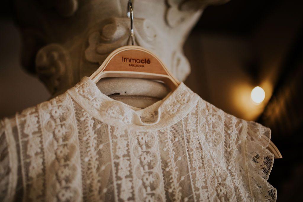 Vestido de novia de Immaclé