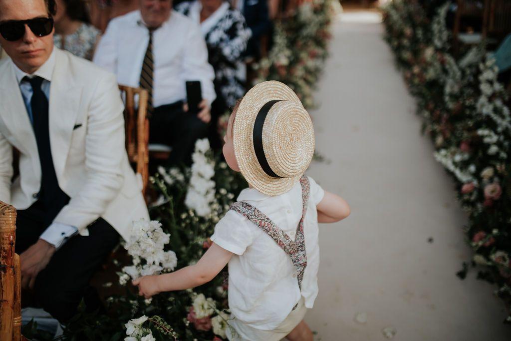 ideas para niños bodas