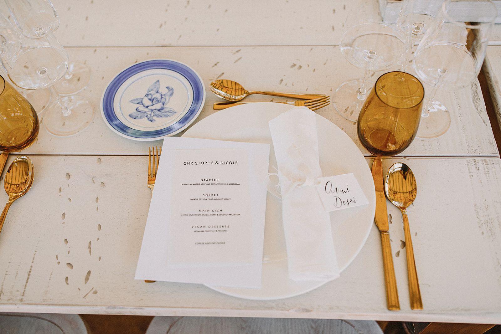 Mesa de boda-Graciela Amor al Plato