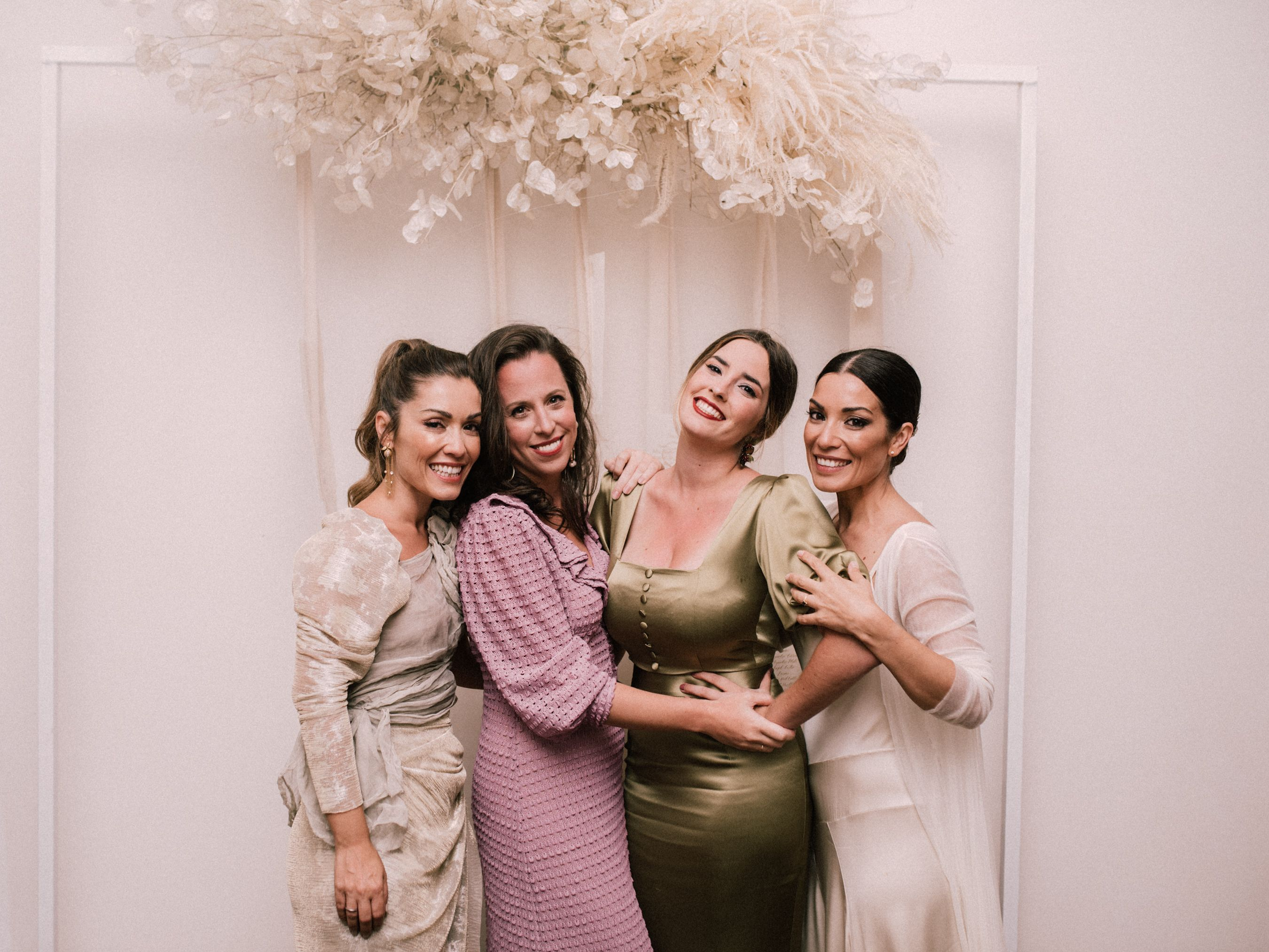 Equipo Weddings With Love: Patricia, Ana, Cristina y Lidia