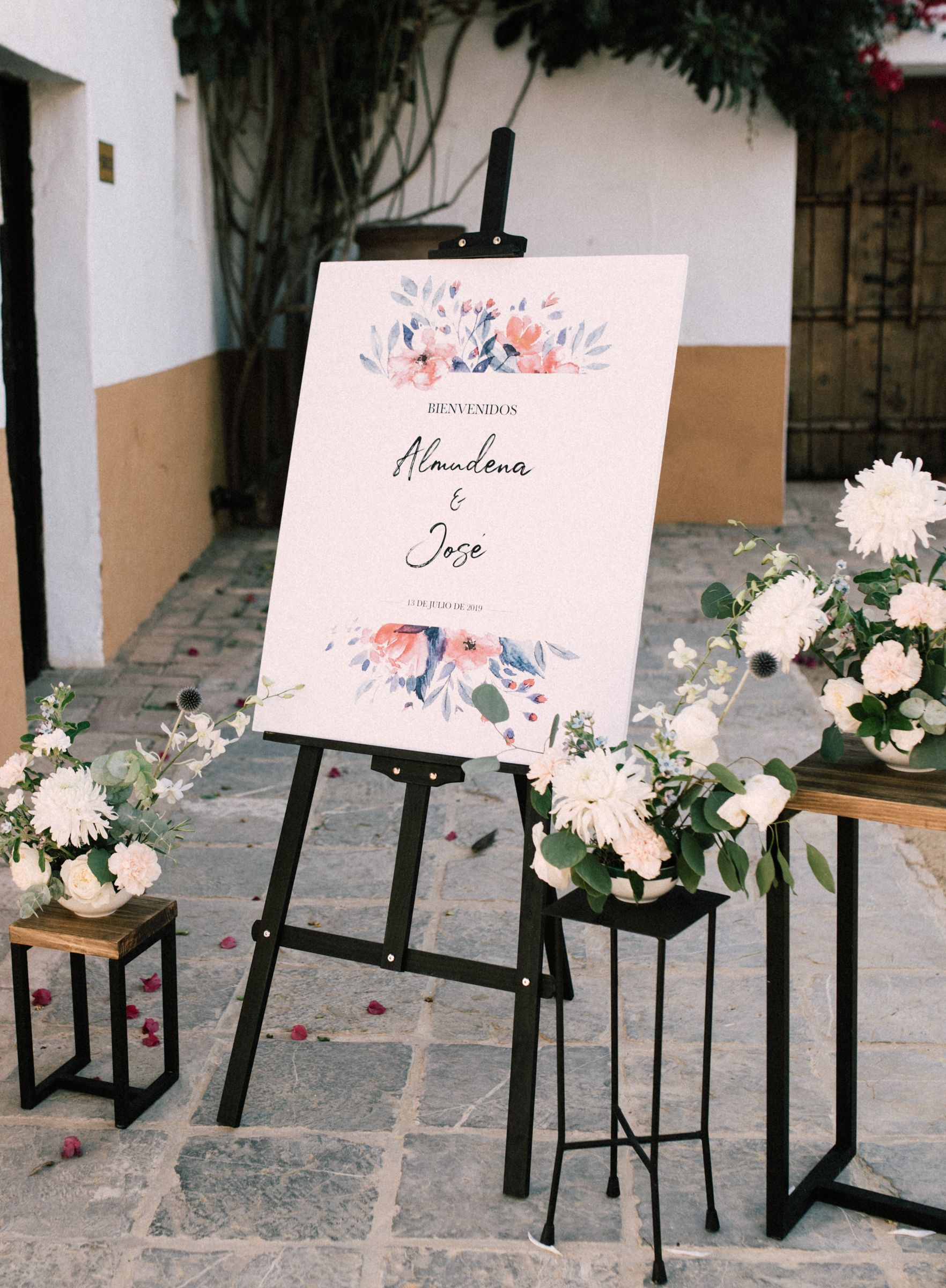 seating plan almudena y jose - weddings with love