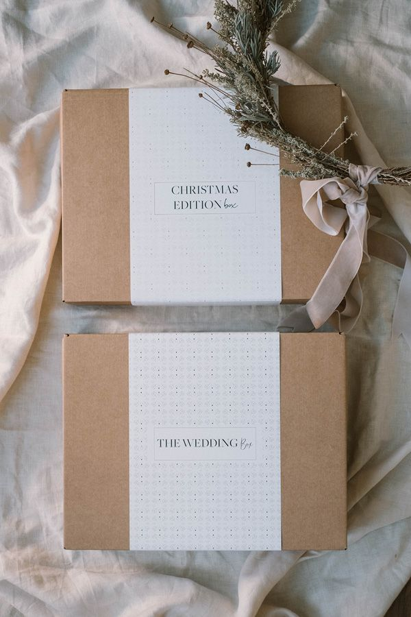 Cajas regalos de Weddings With Love